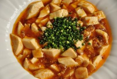 上海蟹豆腐  (上海蟹味噌入り豆腐煮込み)