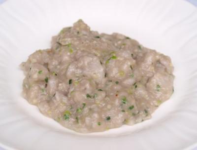 葱油芋奶  (新里芋の葱塩炒め)